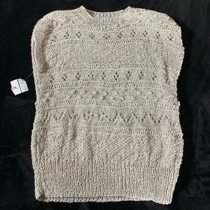 Sweaters - Sleeveless Sweater Brand New with tag
